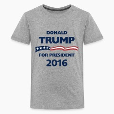 Donald Trump for pesident Kids' Shirts