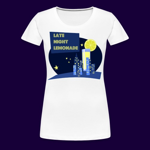 Late Night Lemonade Logo - Women's Premium T-Shirt