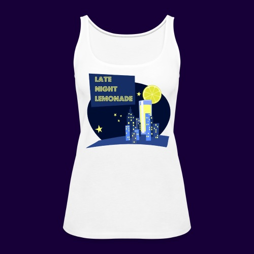 Late Night Lemonade Logo - Women's Premium Tank Top