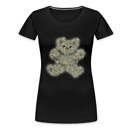 StarCat70's Teddy Bear - Women's Premium T-Shirt