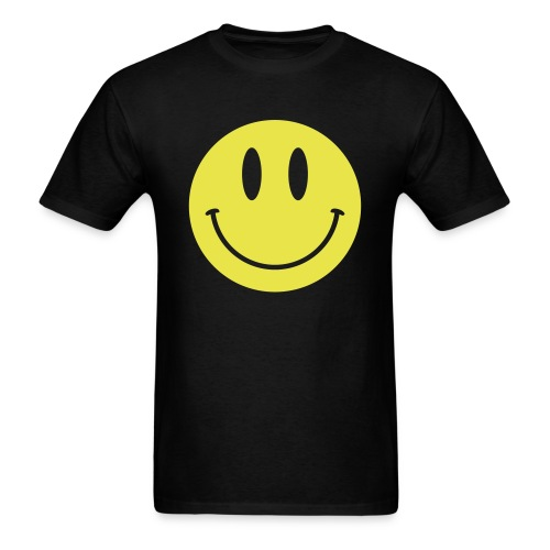 Smiley Gildan Shirt - Men's T-Shirt
