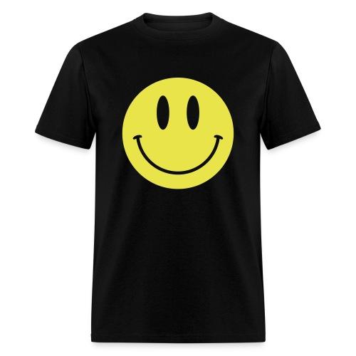 Smiley Gildan Shirt - Men's T-Shirt