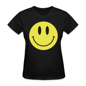 Smiley Gildan Shirt - Women's T-Shirt