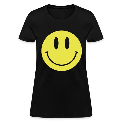 Smiley Gildan Shirt - Women's T-Shirt