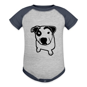 Pit Bull T-Bone - Baby Contrast One Piece
