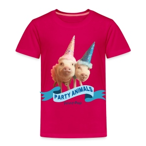 Toddler Party Animals - Toddler Premium T-Shirt