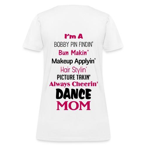 Dance Mom V-Neck - Women's T-Shirt