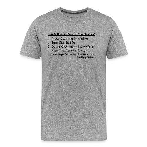 The Cleanse | Men's Black Print - Men's Premium T-Shirt