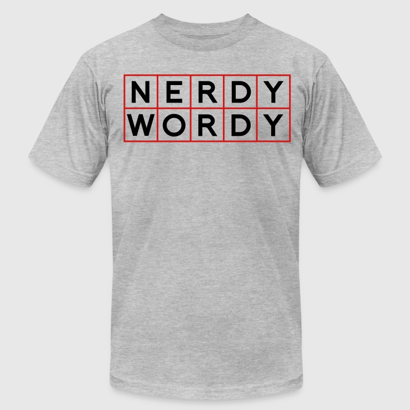Nerdy Wordy (Princess Rap Battle) T-Shirts - Men's T-Shirt by American Apparel