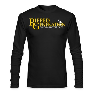 Long Sleeve T-Shirt Ripped Generation - Men's Long Sleeve T-Shirt by Next Level