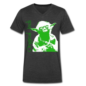 Original Jedi Tee - Men's V-Neck T-Shirt by Canvas