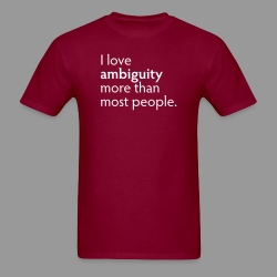 Ambiguity - Men's T-Shirt