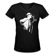 Women's T-Shirts ~ Women's V-Neck T-Shirt ~ Article 102804235