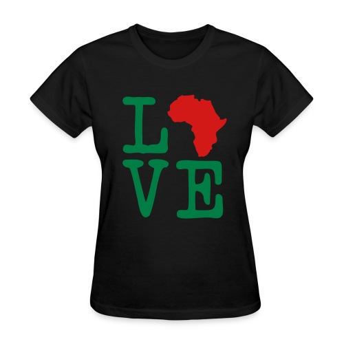 Love Africa - Women's T-Shirt