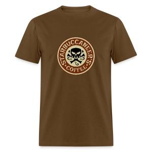 Starbuccaneer's Coffee Mens T Shirt - Men's T-Shirt