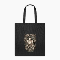 Tattooed evil Girl Bags & backpacks