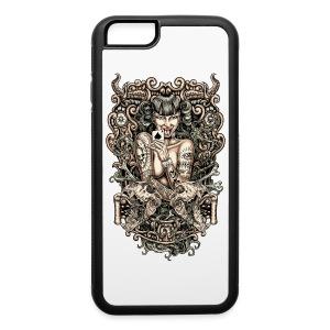 Tattooed Evil Girl - iPhone 6/6s Rubber Case