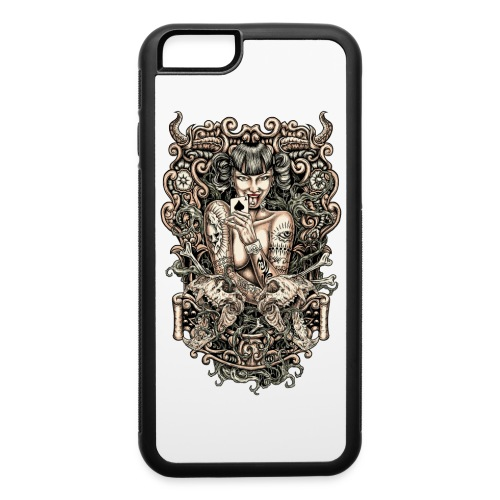 Tattooed Evil Girl - iPhone 6/6s Rubber Case