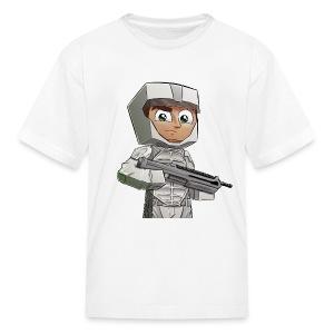 Kid's T-Shirt Peacekeeper Rank - Kids' T-Shirt