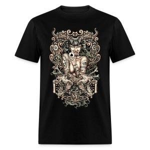 Tattooed Evil Girl - Men's T-Shirt