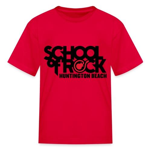 Kids Red Rocker shirt - Kids' T-Shirt