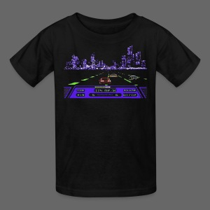 Rad Racer 8-Bit Detroit - Kids' T-Shirt