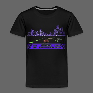 Rad Racer 8-Bit Detroit - Toddler Premium T-Shirt