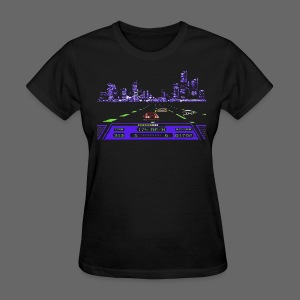 Rad Racer 8-Bit Detroit - Women's T-Shirt