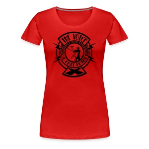 The Voice of Free Planet X T-shirt - Women - Women's Premium T-Shirt