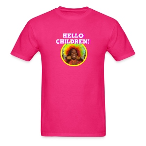 Lady Red Hello Children! - Men's T-Shirt