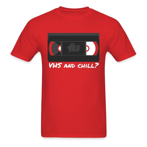 VHS and Chill? [Male] - Men's T-Shirt