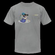 T-Shirts ~ Men's T-Shirt by American Apparel ~ The Last Shot