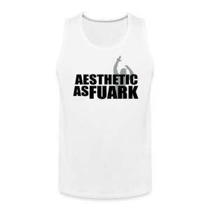 Premium Tank Top Aesthetic As FUARK - Men's Premium Tank
