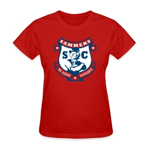 Sammers Logo – Ladies' Red Tee - Women's T-Shirt
