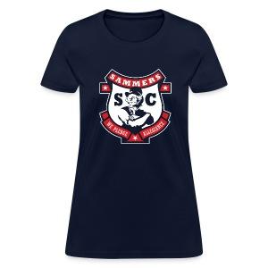Sammers Logo – Ladies' Navy Tee - Women's T-Shirt