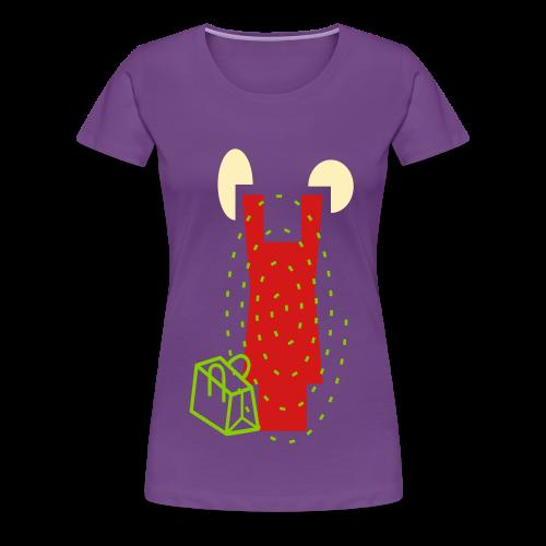 shop till ya drop - Women's Premium T-Shirt