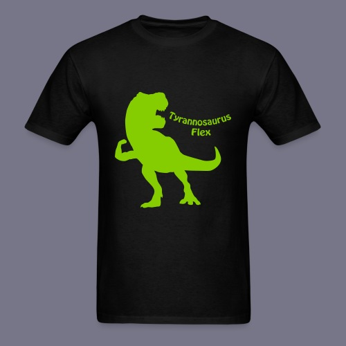 Tyrannosaurus Flex Men's Tee - Men's T-Shirt