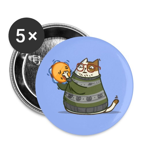 Friday Cat №14 - Small Buttons