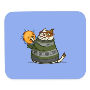 Friday Cat №14 - Mouse pad Horizontal