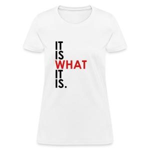 Women's T-Shirt - street talk