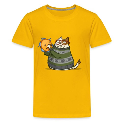 Friday Cat №14 - Kids' Premium T-Shirt