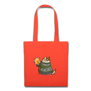 Friday Cat №14 - Tote Bag