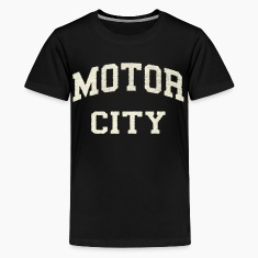 Classic Motor City Detroit Varsity Kids' Shirts