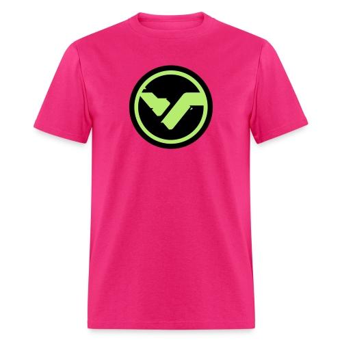 Pink Male Circular FYTE Tee - Men's T-Shirt