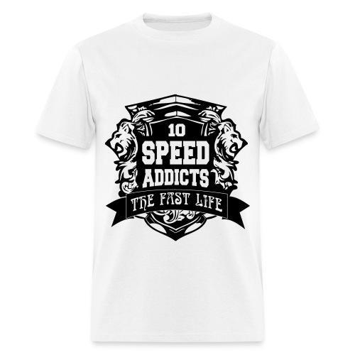 Speed Addicts Shirt - Men's T-Shirt
