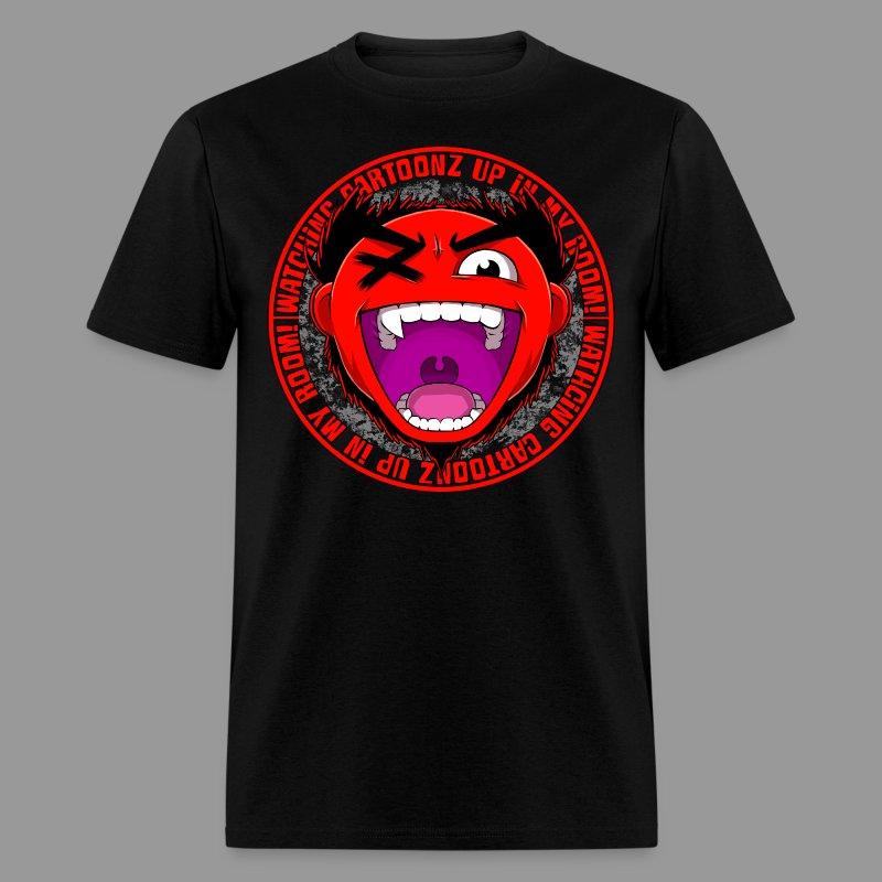 Men's Watching CaRtOoNz Tee - Men's T-Shirt
