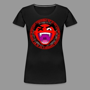 Premium Women's Watching CaRtOoNz Tee - Women's Premium T-Shirt