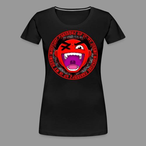 Premium Women's Watching CaRtOoNz Tee - Women's Premium T-Shirt