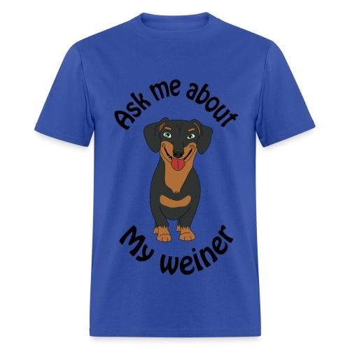 Weiner Dog - Men's T-Shirt