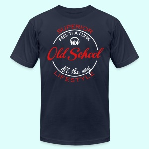 old school  approved  - Men's T-Shirt by American Apparel